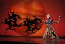 JOAN MARCUS - Buyi Zama in The Lion King.