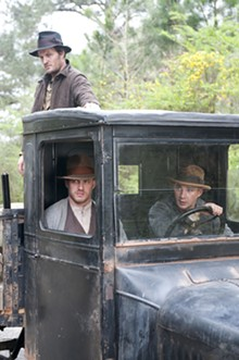 THE WEINSTEIN COMPANY - Jason Clarke, Tom Hardy and Shia LaBeouf in Lawless.