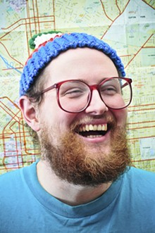 JOSH SISK - Dan Deacon just released his most serious album to date, called America.