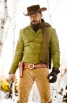 Threatening black actor: Jamie Foxx. (Seen here in Django Unchained.)