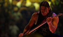 Metallica bassist Robert Trujillo in Through the Never.
