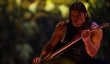 Metallica bassist Robert Trujillo in Through the Never.