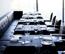 JENNIFER SILVERBERG - Panorama's dining room. See also: Panorama Restaurant Photos