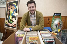 JON GITCHOFF - Brian Spath screens his Web series Comic Geeks around the country at conventions like Wizard World.