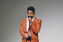 DONELLE WOLLFORD - Donelle Wollford as Richard Pryor, - performing as Mudbone.
