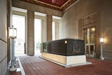 COURTESY OF THE MISSOURI HISTORICAL SOCIETY - The cenotaph honors the 1,075 St. Louisans who died in WW II.