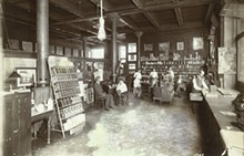 C.F. Blanke Tea and Coffee Company interior, 218 South Seventh Street. Photograph by W. C. Persons, 1909. Missouri Historical Society.
