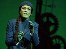 (C) JOAN MARCUS - Emily Koch as Elphaba.