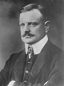 Finnish national hero Jean Sibelius.