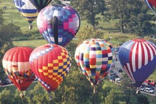 COURTESY OF FOREST PARK BALLOON RACE