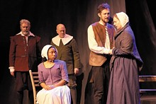 DAN DONOVAN - Stray Dog Theatre's performance of The Crucible.