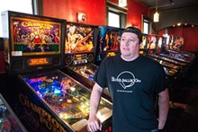JARRED GASTREICH - Pinball reigns supreme at Silver Ballroom.