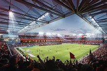 MLS4THELOU - Rendering of St. Louis City SC's stadium.