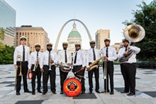 PHILIP HAMER PHOTOGRAPHY - The Red and Black Brass Band.