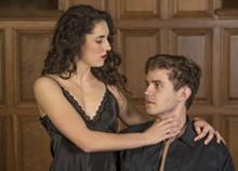 JOE ANGELES/WASHINGTON UNIVERSITY - Josh Parrack and Caroline Sullivan as Macbeth and Lady Macbeth.