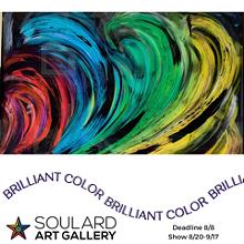 Brilliant Color juried art exhibit - Uploaded by SouldardArtGallery