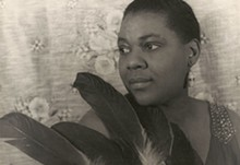 CARL VAN VECHTEN - Bessie Smith in the final year of her life.