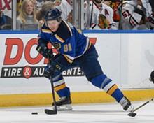 SCOTT ROVAK/ST. LOUIS BLUES - Vladimir Tarasenko, still piling up points.