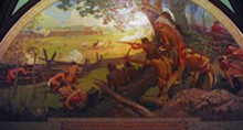 Mural of the conflict, now hanging in the Missouri State Capitol.
