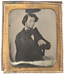 COURTESY OF THE MISSOURI HISTORY MUSEUM - A 19-year-old native of New York, Chas Jamison was a prisoner in the St. Louis County jail in 1860.