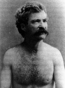 "Mark Twain was an early proponent of the ""sun's out, guns out"" philosophy."