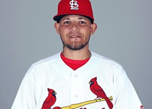 Yadier has been fired up lately.