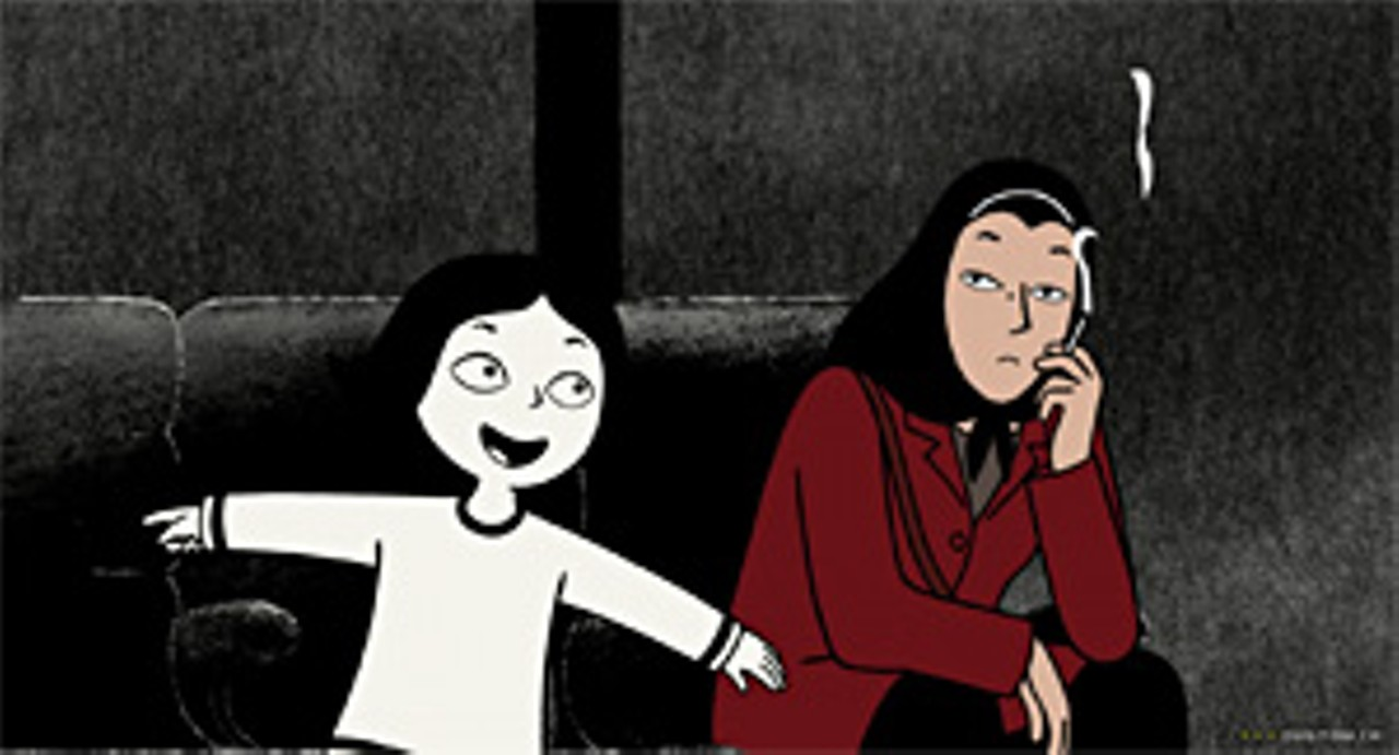 The Islamic Revolution And Puberty Through The 2 D Eyes Of Marjane Satrapi Film Stories St Louis St Louis News And Events Riverfront Times