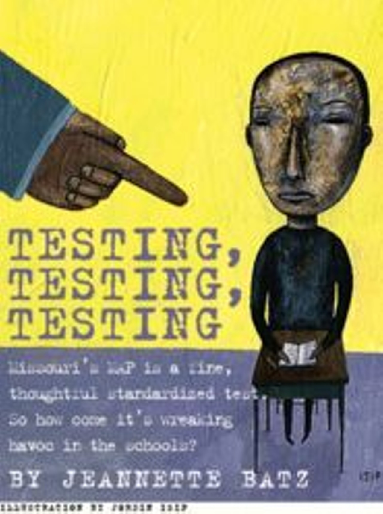 Testing, Testing, Testing | Feature | St. Louis | St. Louis News and ...
