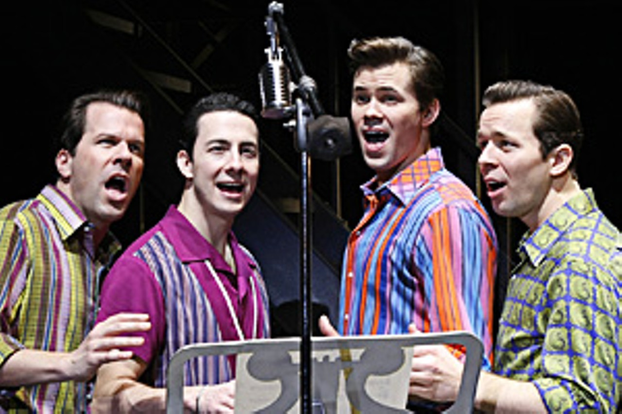 Movie musical inspiration: jersey boys