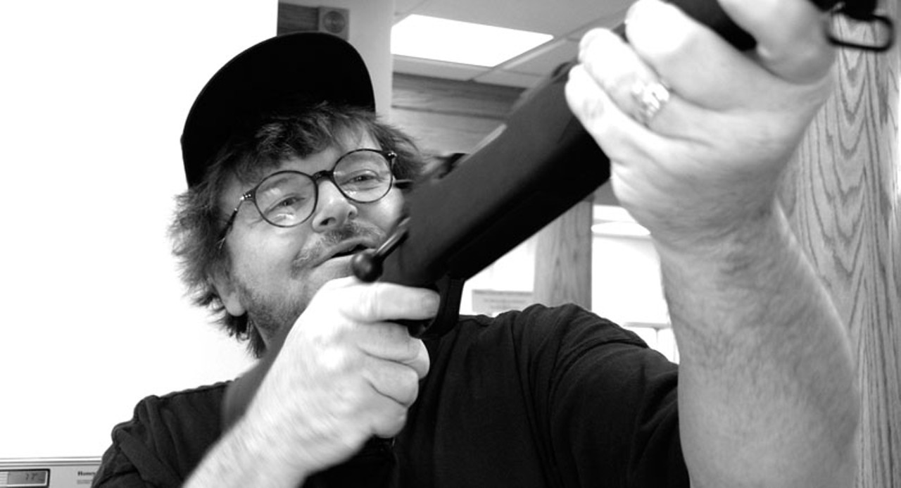 In Bowling For Columbine, Director Michael Moore Took Aim At America's Gun  Culture  And Broke All Boxoffice Records For A Documentary Film