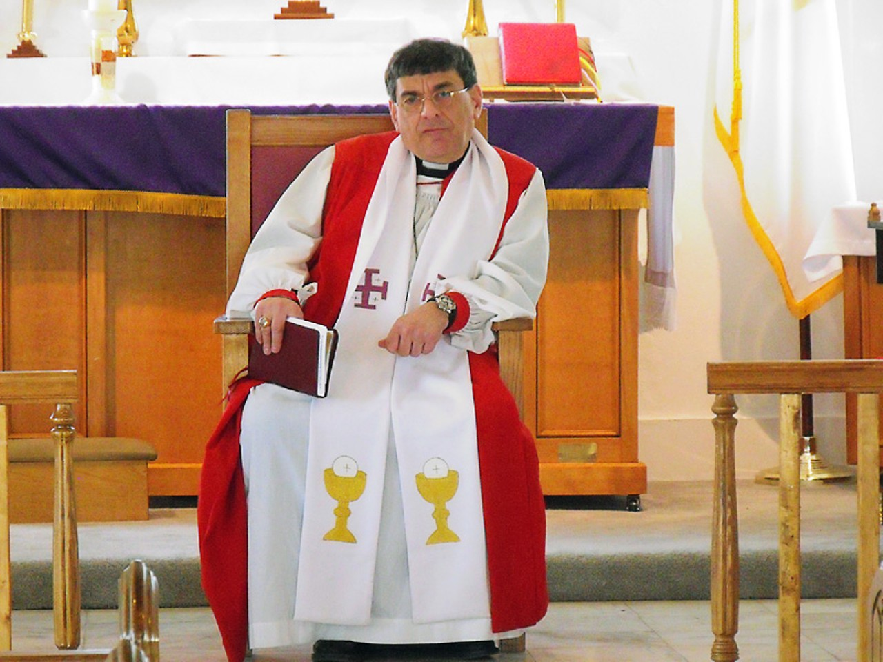 white collar crime anglican bishop martin sigillito is accused of despite the taint of scandal martin sigillito still administers to the american anglican faithful on sundays in richmond heights