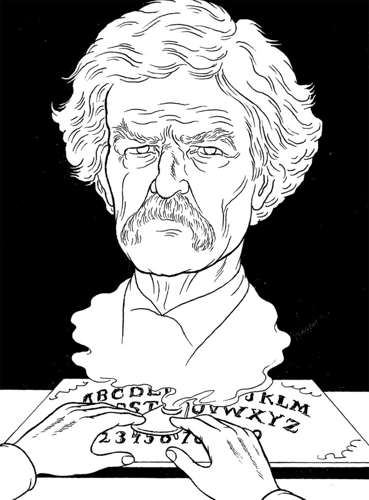 the ghost story by mark twain