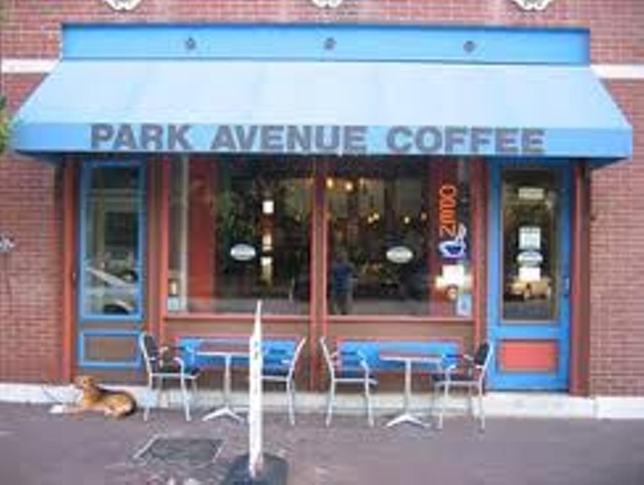 Park Avenue Coffee Lafayette Square St Louis