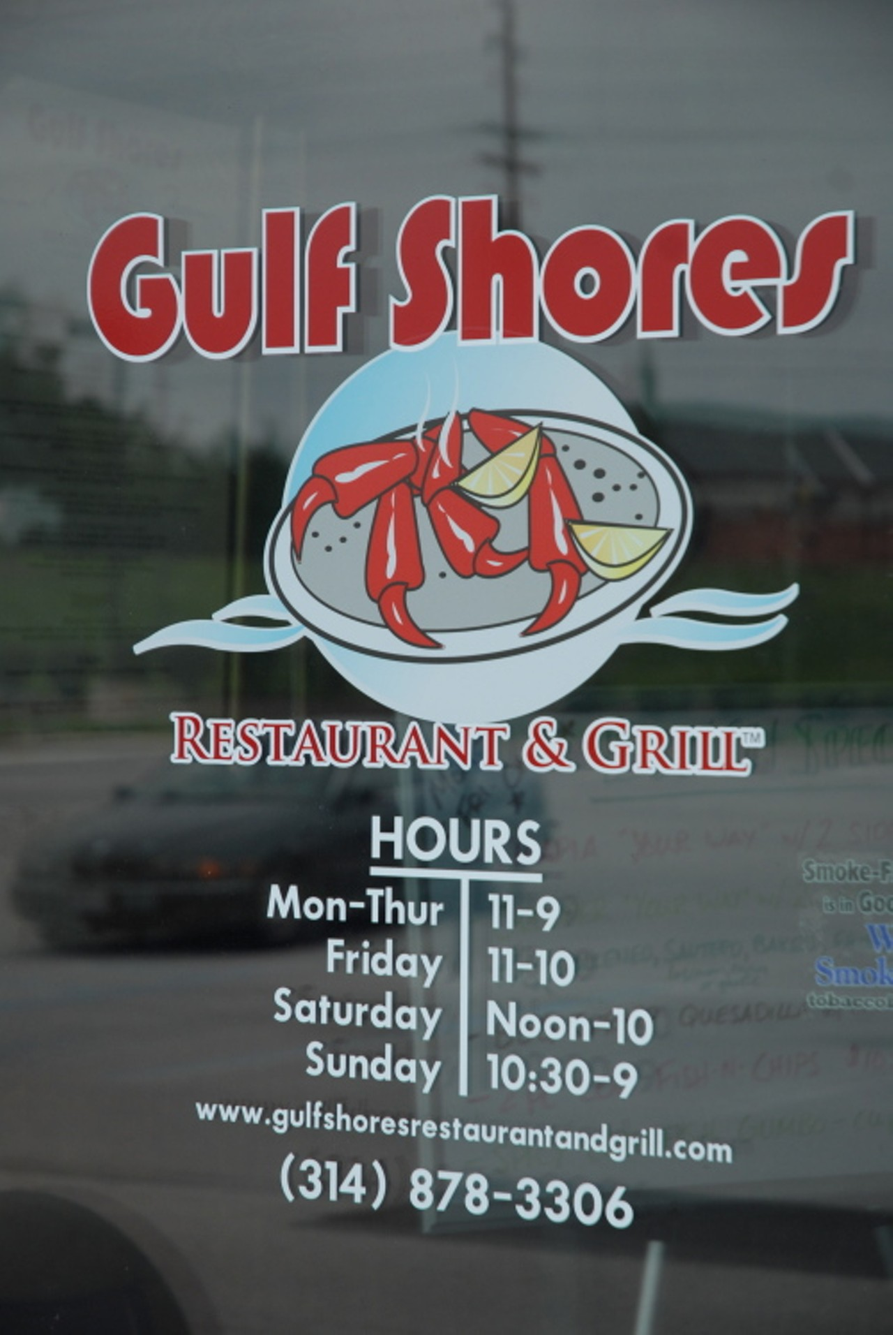 Gulf shores restaurant grill creve coeur cajun for Fish river grill gulf shores