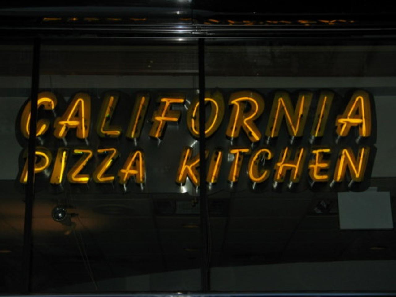 California Pizza Kitchen Creve Coeur Pizza