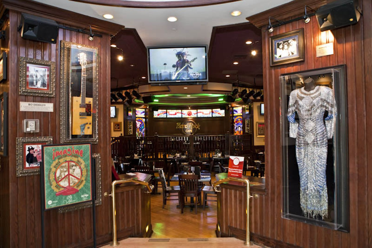 Hard Rock Cafe St Louis Union Station Menu