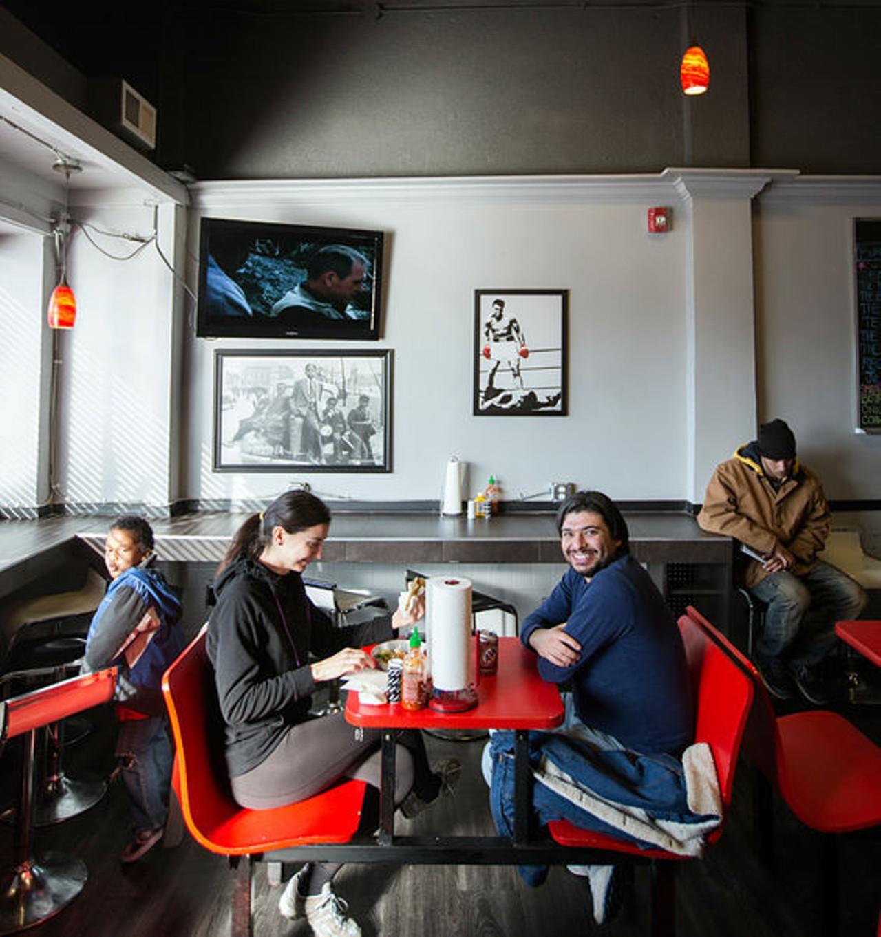 the kitchen sink | st. louis - midtown | american, burgers, cajun