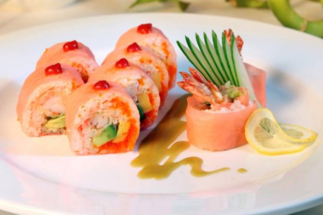 The drunken fish maryland heights japanese sushi for Drunken fish menu