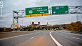 490 East, headed towards Exit 13 - PHOTO BY MATT DETURCK