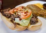 A beef bulgogi sandwich. - PHOTO BY MARK CHAMBERLIN