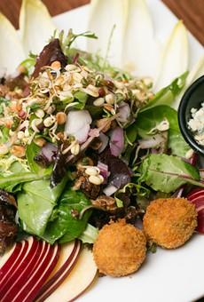 A Belgian endive salad at Victoire.