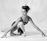 "A Firebird arises: Hayley Meier in the title role of Rochester City Ballet's ""Firebird."""