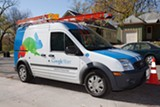 A Google Fiber installation van. PHOTO COURTESY GOOGLE