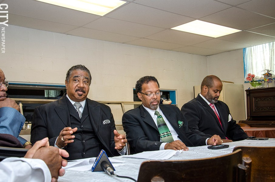 A group of Rochester's black ministers say they need to be more involved in city schools. - PHOTO BY : MARK CHAMBERLIN