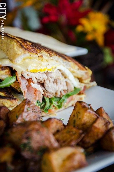 A Harvest Cristo sandwich from Harvest Cafe. - PHOTO BY MARK CHAMBERLIN