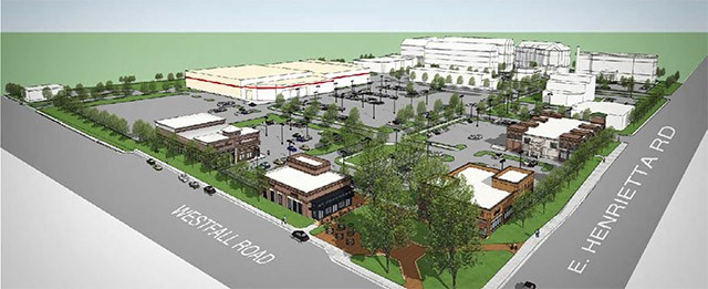 A look at the $200 million CityGate project at East Henrietta and Westfall roads.