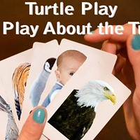 """THEATER: """"Turtle Play (The Play About the Turtle)"""" A new play written and directed by Rochester's Samantha Vakiener and Angela Giuseppetti. (Friday 8-9:30 p.m. at The Space Theatre & Gallery. $7) PHOTO PROVIDED"""