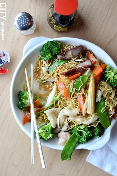 A noodle dish from Han Noodle. - PHOTO BY MATT DETURCK