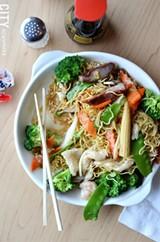 A noodle dish from Han Noodle. - PHOTO BY MATT DETURCK