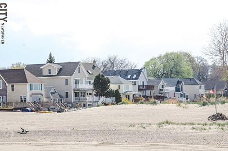A plan to manage Lake Ontario's water levels will affect lakefront property. - PHOTO BY MARK CHAMBERLIN